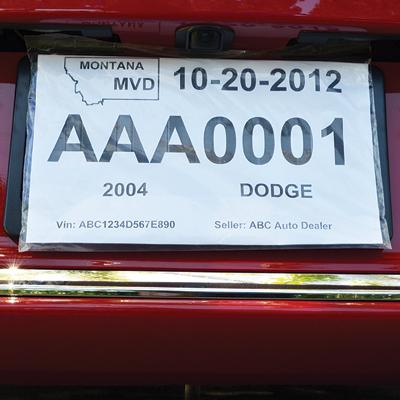 econo temporary plate holder temporary license plate holder. Black Bedroom Furniture Sets. Home Design Ideas