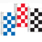 3' x 5' Vertical Checkered Flag {EZ342-V}