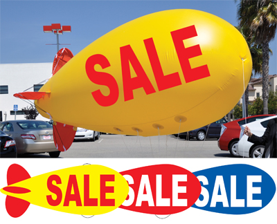 Giant 17 Sale Blimp Balloon Ez541 Sale Ezlettering Com