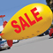 Giant 17' SALE Blimp Balloon {EZ541-SALE}
