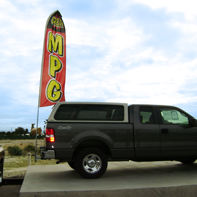 Swooper Flag With Trailer Hitch Adapter Ezlettering Com