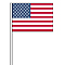 U.S. Cloth Antenna Flag {EZ314}